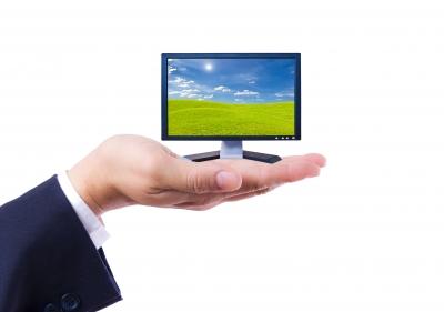 TV in hand
